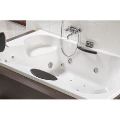RIHO CLAUDIA, stačiakampė masažinė vonia