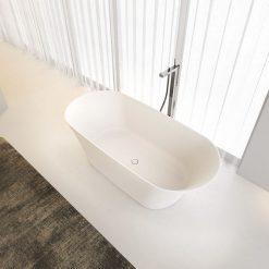 SOLID SURFACE RIHO BARCA, akmens masės vonia