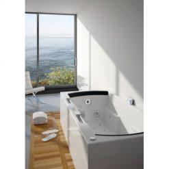 RIHO LISA, stačiakampė masažinė vonia