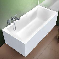 Akrilinė vonia Riho Rethink Cubic Plug&Play