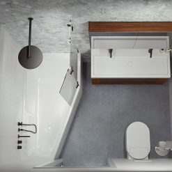 Akrilinė vonia Riho Rethink Space