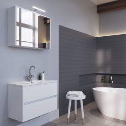 Vonios baldų komplektas Riho Porto Slim