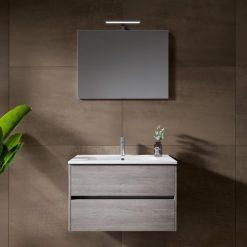 Vonios baldų komplektas Riho Porto Wave su viengubu praustuvu